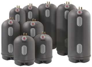 Group of Marathon water heaters